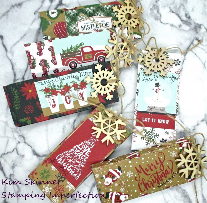 Quick Gift packaging ideas and a card created from ready made products