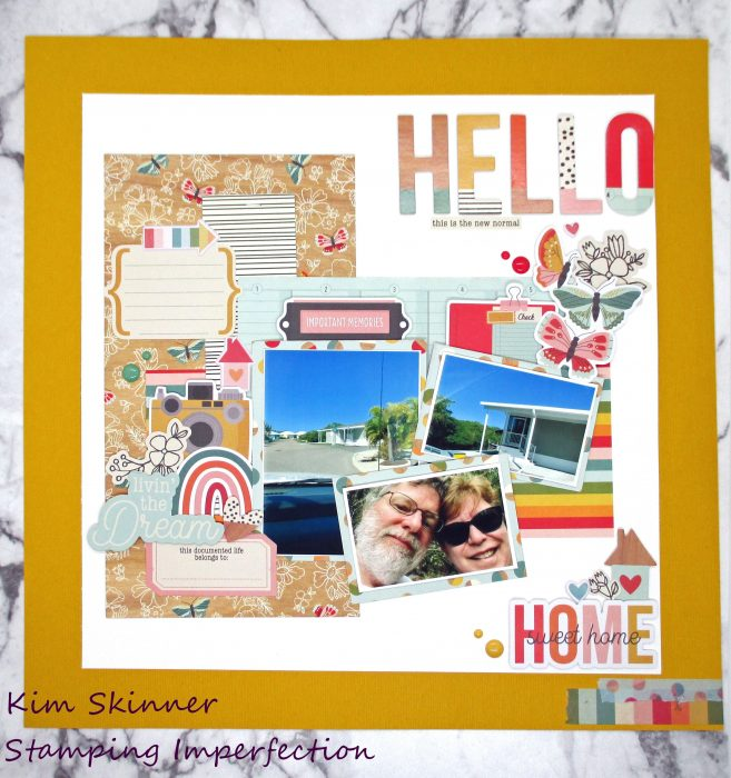 Challenge YOUrself January 2021 Scrapbook Challenge