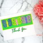 10 Minute Card: Bright & Easy Spring Card With Scrappy Tails Crafts Dies