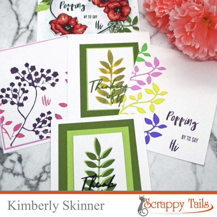 5 Ways To Use the Assorted Leaves Dies From Scrappy Tails Crafts