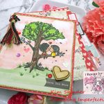 Valentine's Day Mini Album With Star Stampz Digital Image