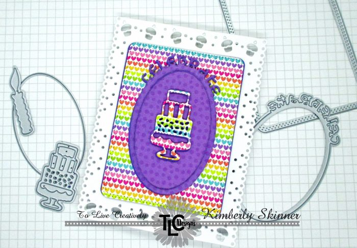 quick and easy birthday card with no stamping