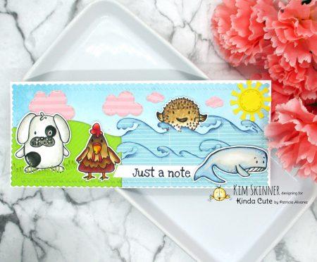 Cute Shaped Animals digital stamp set