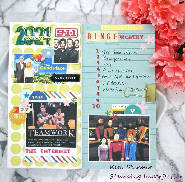 travelers notebook LOAD 0221 Challenge