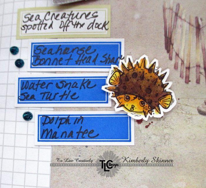 travelers notebook interactive element