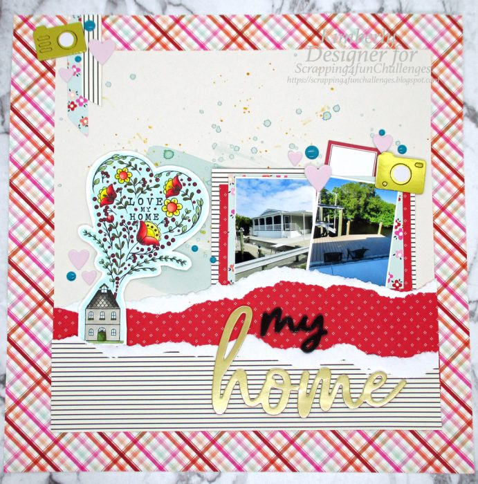 using digital images on scrapbook layouts