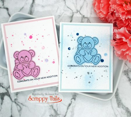 Scrappy Tails Crafts Sweet Bear stamp set