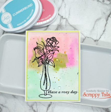3 quick watercolor cards with Scrappy Tails Crafts