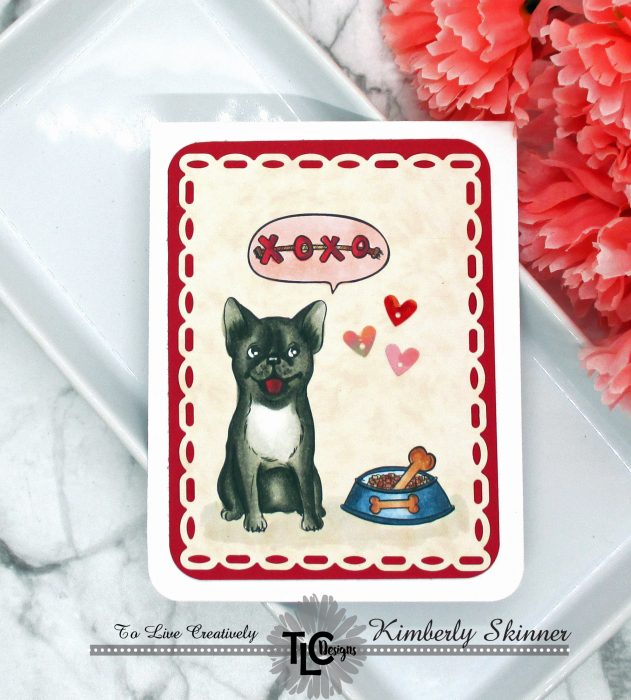 Posh pups digital stamps and papers