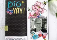 Challenge Yourself Scrapbook Challenge April 2021