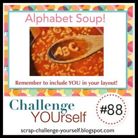 Challenge Yourself Scrapbook Challenge April 2021