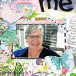 Challenge YOUrself Scrapbook Challenge: A Layout About Me!