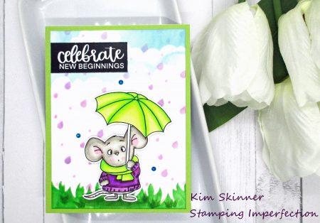 Gerda Steiner digital umbrella mouse stamp