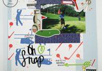 Hedgehog Hollow April Craft Kit Scrapbook Layouts