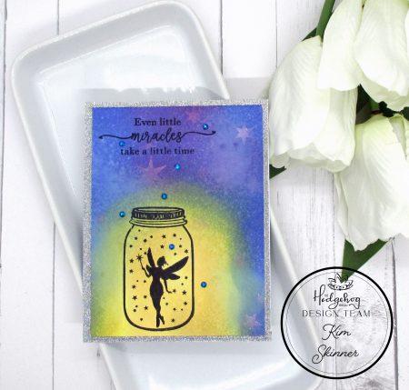 The Hedgehog Hollow March Card Kit Fairy Card
