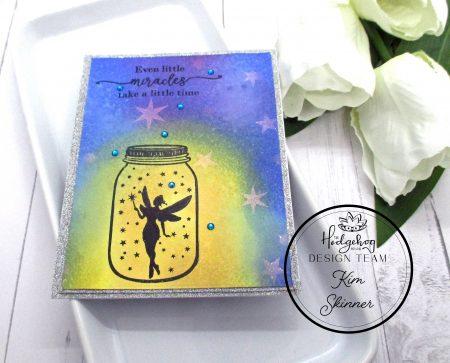 the hedgehog hollow march box fairy card