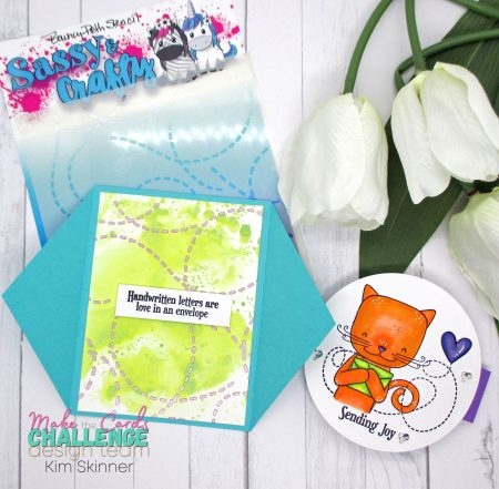 Make the Cards Color Challenge with a Fun Fold Card