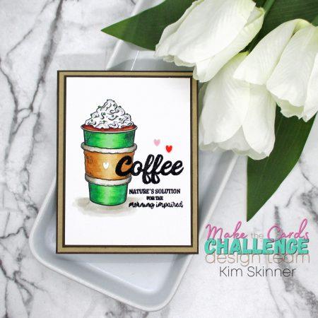 Make the Cards Challenge: Coffee Theme