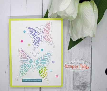 Scrappy Tails March Release Butterfly Cards