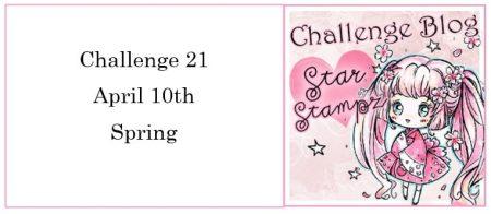 StarStamps Spring Themed Challenge digital stamps