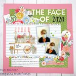 Challenge YOUrself Scrapbook Layout Challenge:
