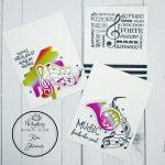 Foiling Die Cut Ephemera To Make 3 Quick Masculine Cards