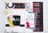 traveler's notebook with foiled ephemera