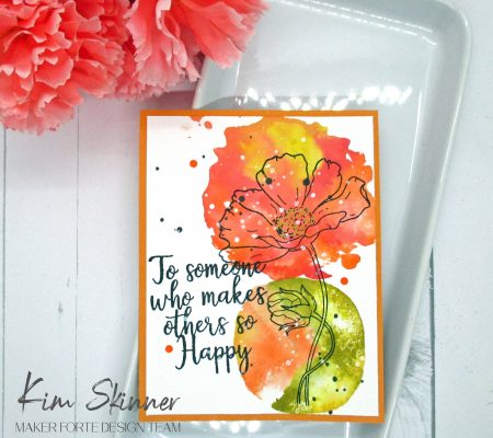 Easy Watercolored Mother's Day Cards