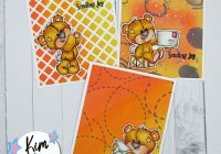 3 Cards with Sassy & Crafty stencils