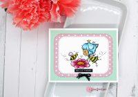Star Stampz Spring Card