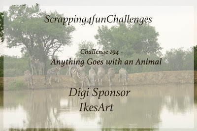 Anything goes with an animal image challenge