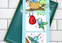 Hummingbird digital stamp set from Kinda Cute by Patricia