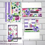 Here Is An Easy Way To Use Your Patterned Paper Stash + Free Cutting Templates and Card Sketches