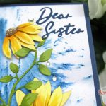 Create A Slimline Floral Card With No Stamping!