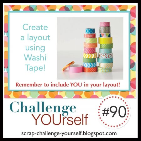 Challenge YOUrself Scrapbook Challenge June 2021