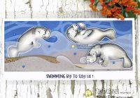kinda cute by patricia manatee digital stamps