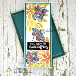 Create A Cute Card With The Monarch Digital Stamp Set From Kinda Cute by Patricia