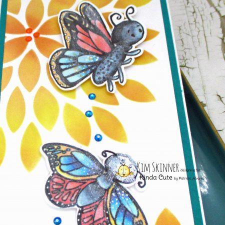 Monarch Butterfly Digital Stamp Set