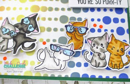 make the cards sketch challenge with sassy & crafty stamps and stencils