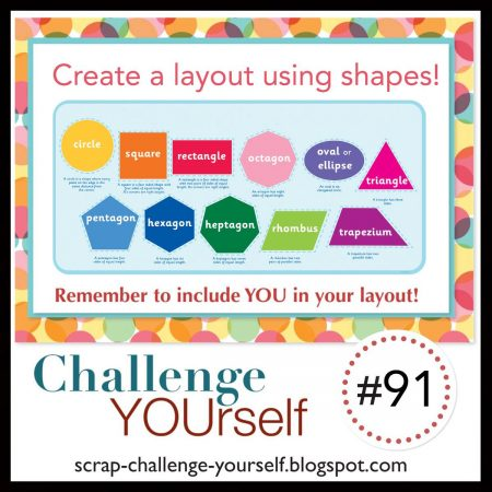 Challenge YOUrself with shapes July 2021