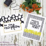 Patterned Paper Challenge+Free Cutting Templates and Card Sketches + Giveaway!