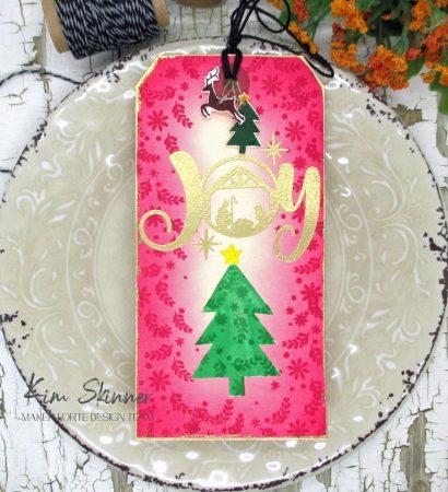 Christmas tags and shrink plastic charms