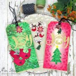 Christmas in July: Christmas Tags + Shrink Plastic Charms
