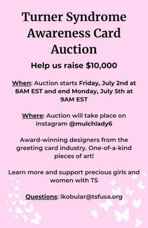 Turner's Syndrome Awareness Auction