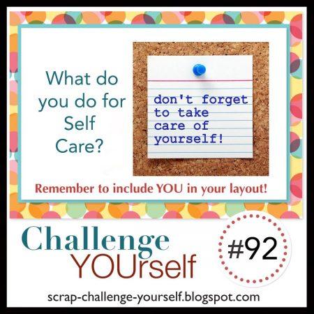 challenge yourself scrapbook challenge