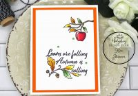 4 quick and easy fall cards