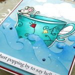 Digital Stamps and Die Cutting Fun