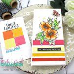 Make The Cards Challenge: Orange Sherbert