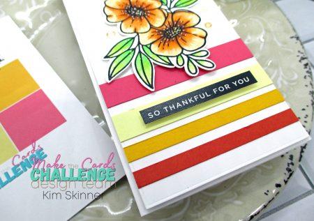 Make the Cards Color Challenge: Orange Sherbert