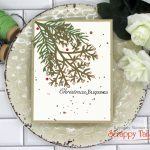 Fall and Christmas Cards From A Christmas Die Set!